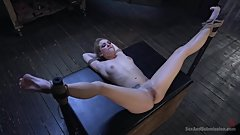 Legs Tied Back And Fucked 11