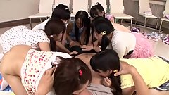guy hypnotizes ten youg girls to want him
