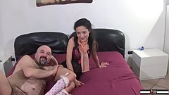 Italian babe 19 years old Lola Herez ago porn casting