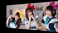 Visiting A Japanese Maid Cafe Sexy Girls  Unsraw King