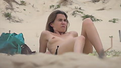HD French  topless incredible beach south west France