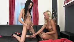 Angellina and Naomi - Wet Games