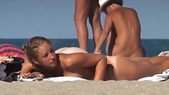 Perfect nudist teen nude beach tits and pussy